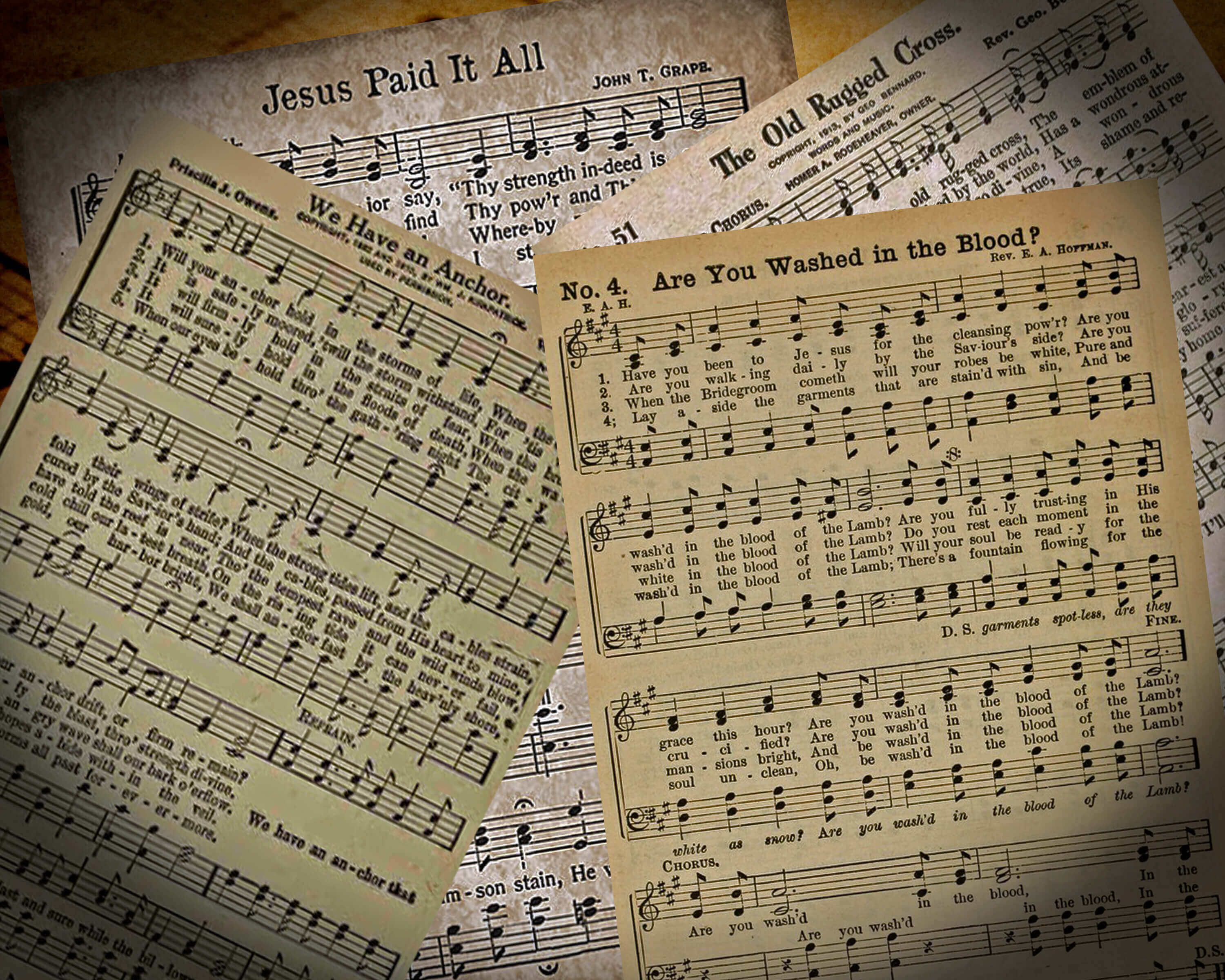 Hymn pages